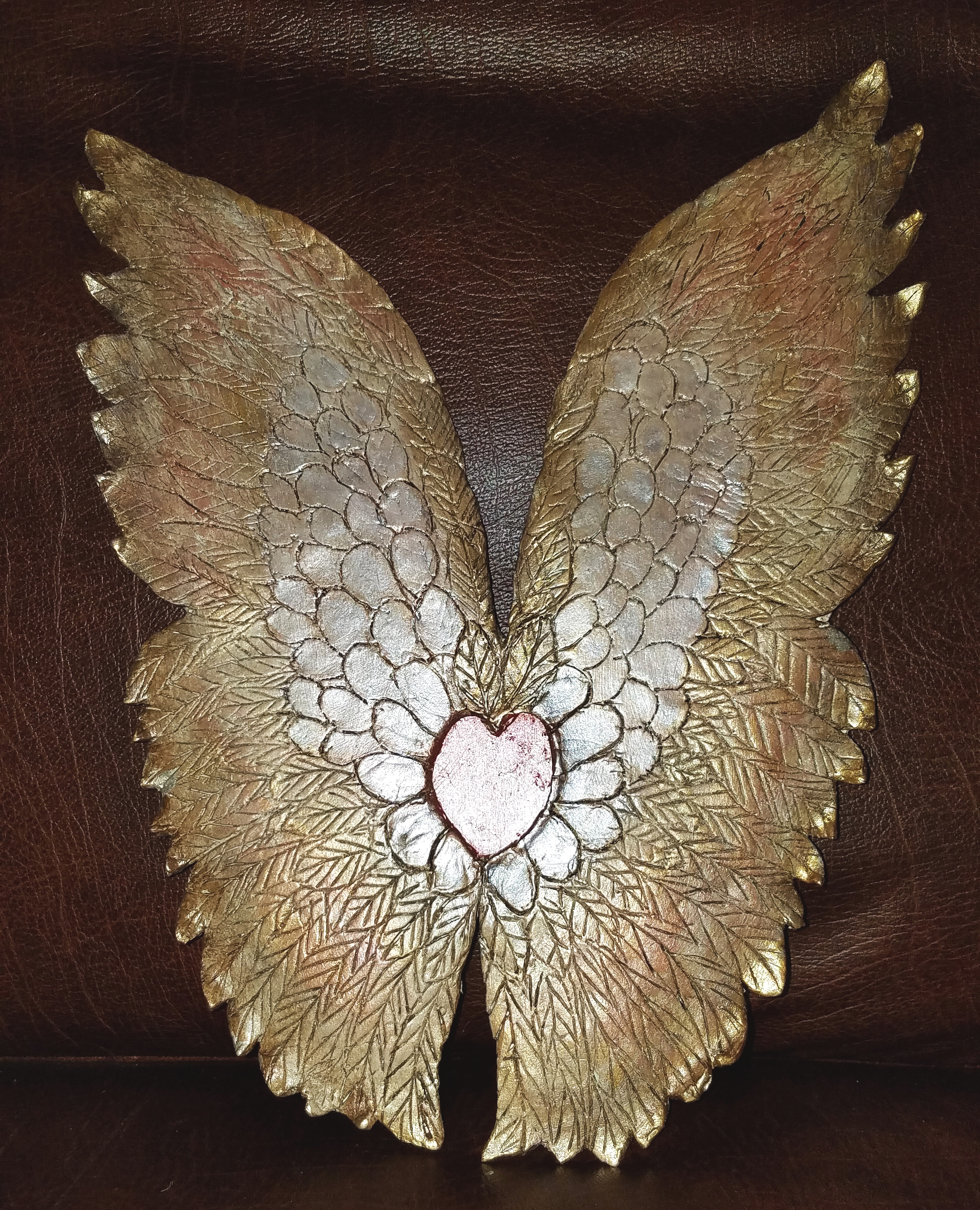 Paper Clay Wings