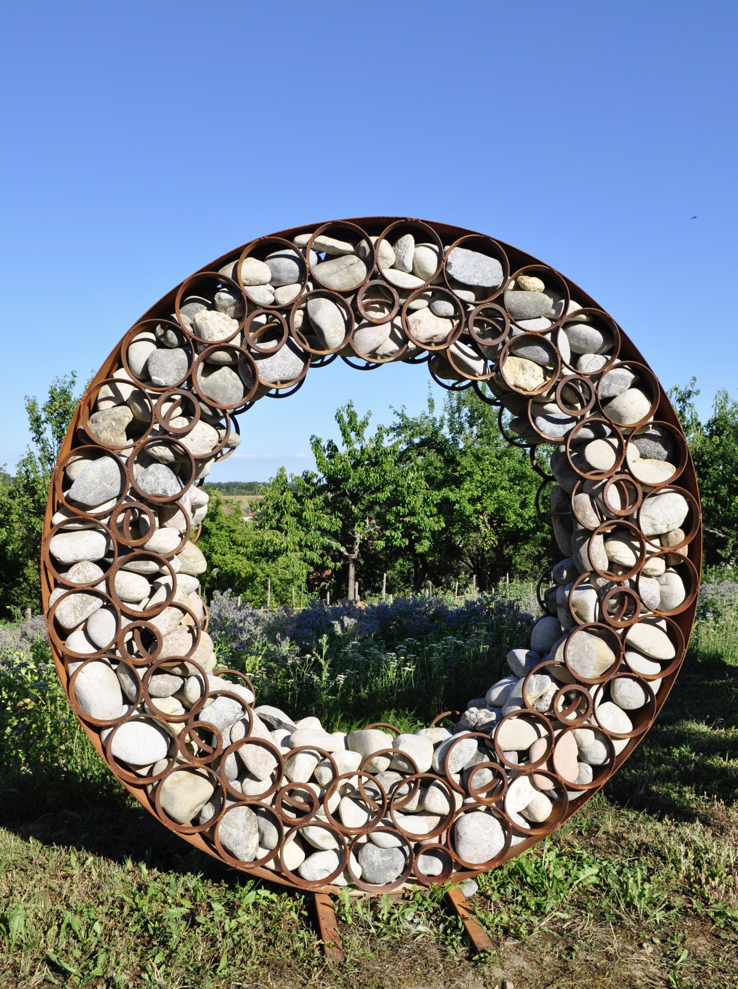 Iris Stone Disc