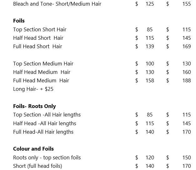 price-list part 3