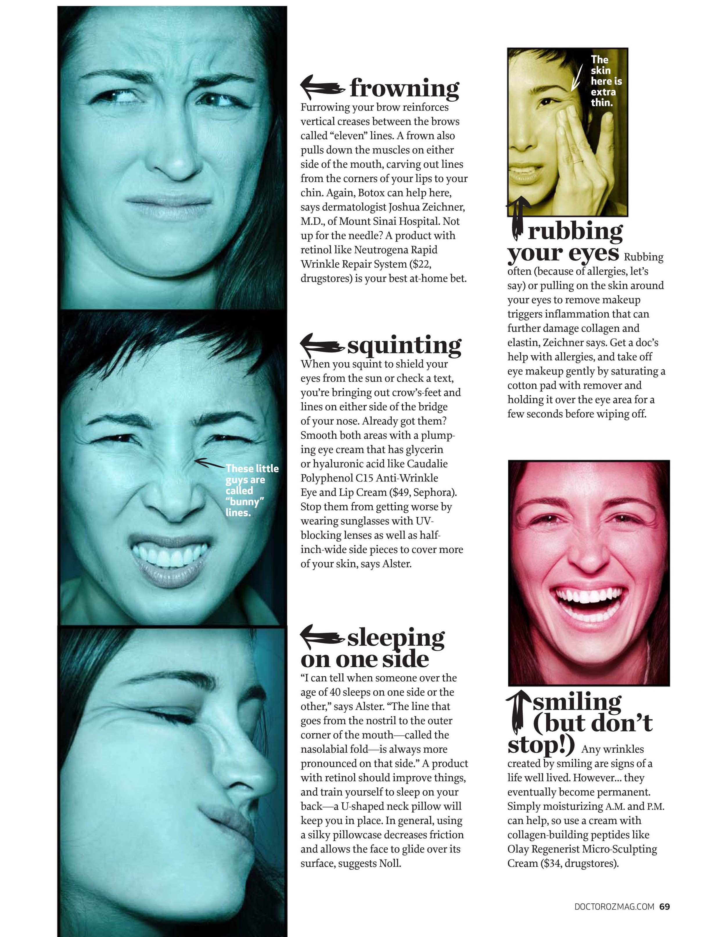 How To Stop Frowning