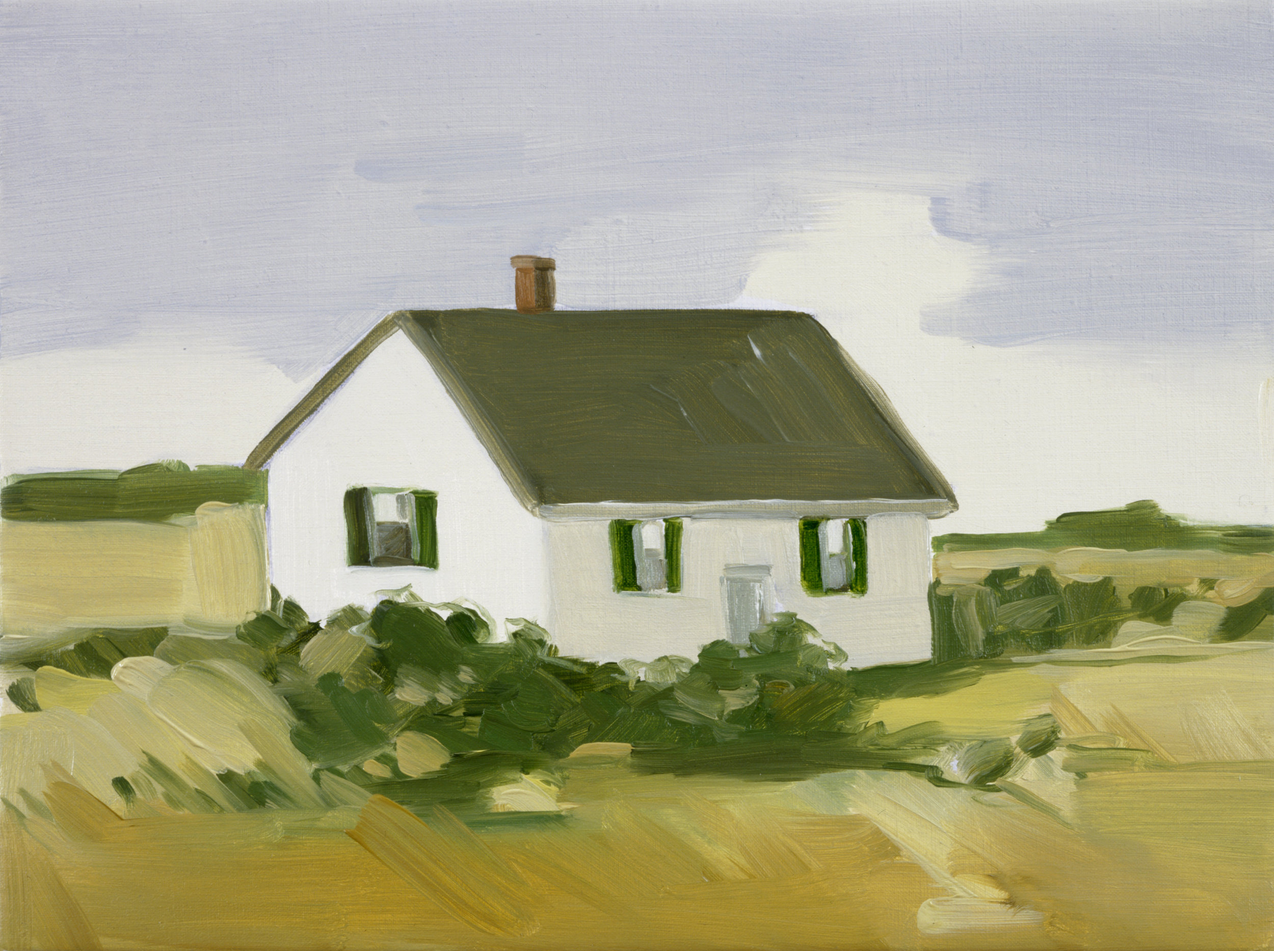 "Maureen Gallace's ""Yellow Field, Easton, Ct."", 2002"