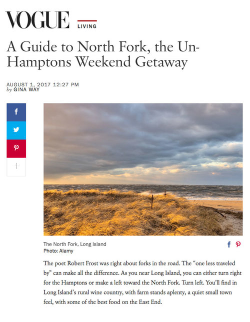 A Guide to North Fork, the Un-Hamptons Weekend Getaway