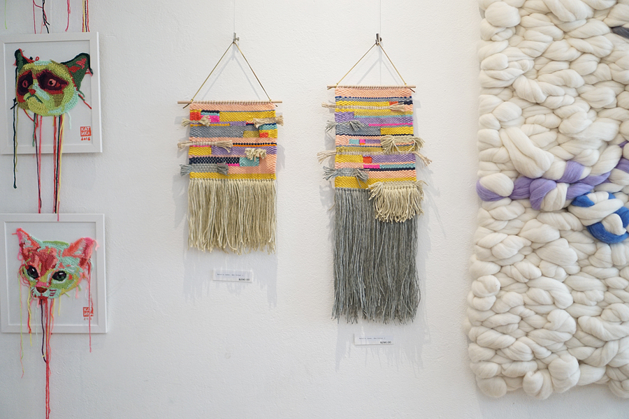 thread + colour exhibition kpc yarn Sydney 2016 natalie jones fibre art woven wall hanging 3.jpg