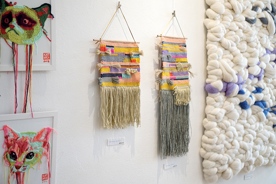 thread + colour exhibition kpc yarn Sydney 2016 natalie jones fibre art woven wall hanging 2.jpg