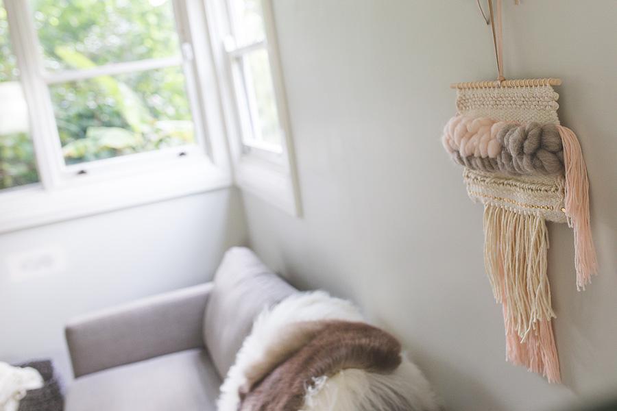 Natalie Jones contemporary fibre art boho blush luxe woven artwork wall hanging 2.jpg