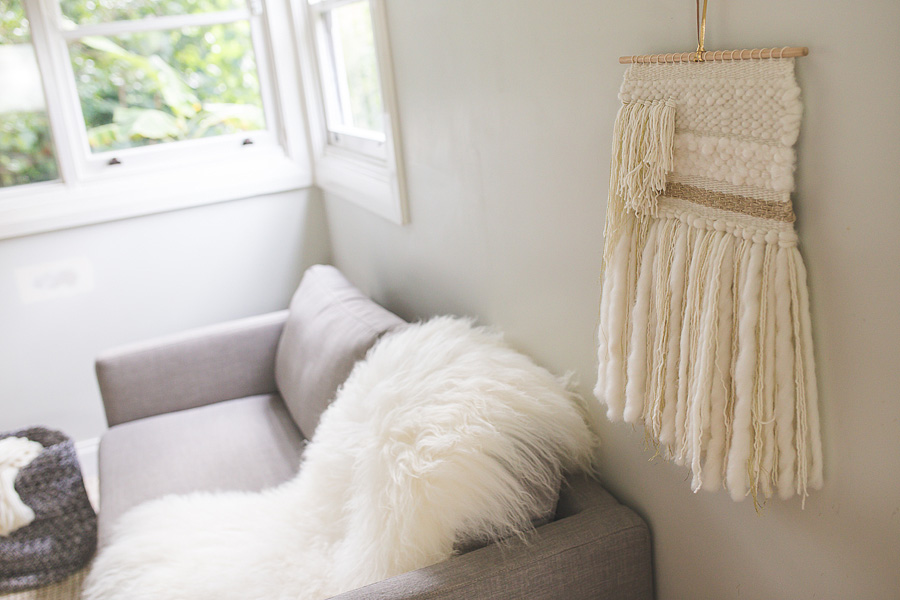 natalie jones contemporary art woven artwork blush series II 2015 woven wall hanging neutral large.jpg