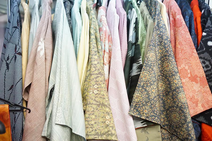 Textile tour Japan