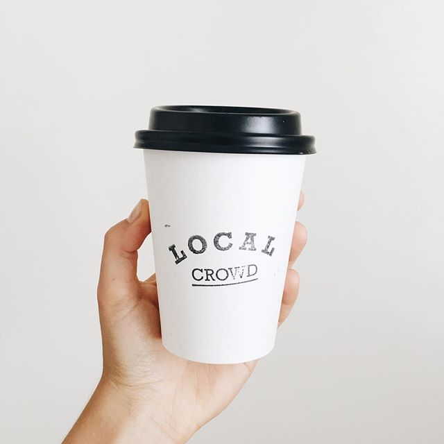 Throwing it back to the weekend when I visited @localcrowdcafe for the second time in a week because I was so impressed the first time I had to check it wasn't just a fluke. #wasntafluke  #almondmilkdream #coffeelover
