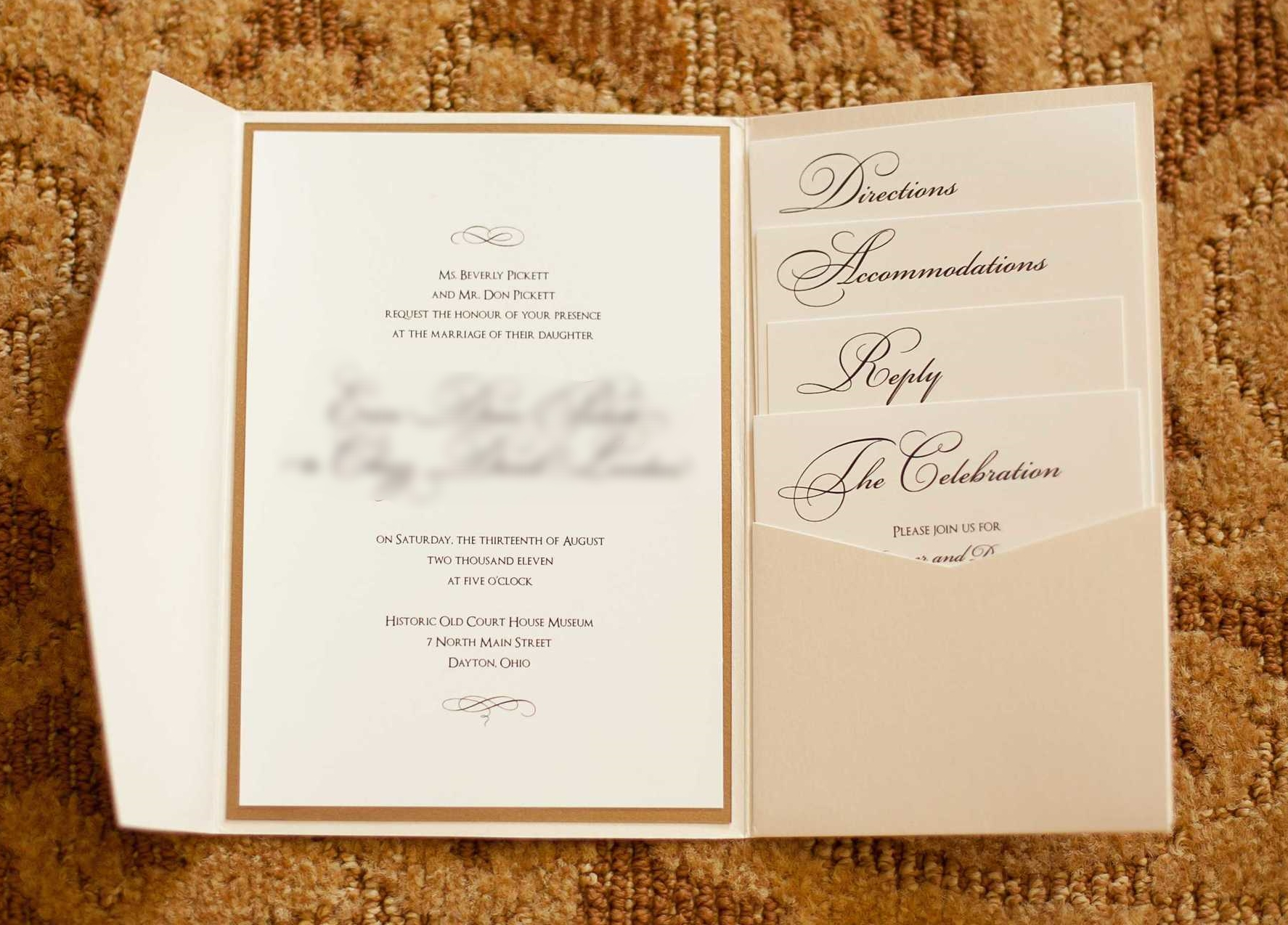 "img src=""httpwww.theparkwayevents.jpg"" alt=""San Francisco Bay Area Wedding Coordinator Custom Wedding Invitation Gold and Cream"".jpg"