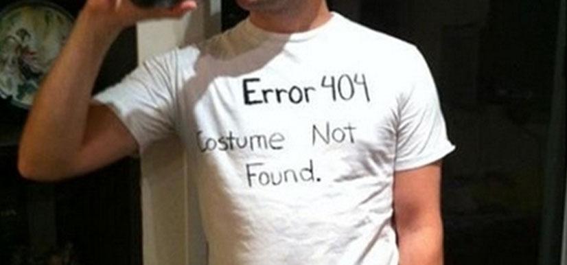 Slapdash Halloween Costume Ideas for Men