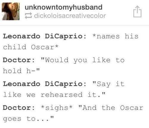Leonardo DiCaprio   Twitter   Doctor Conversation