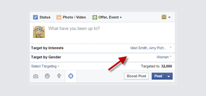 Target Your Posts