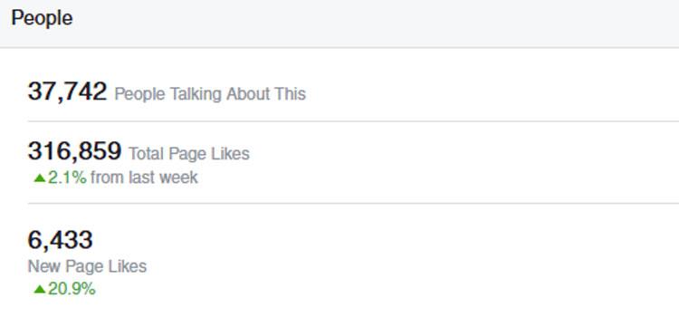 COPPER Facebook Likes