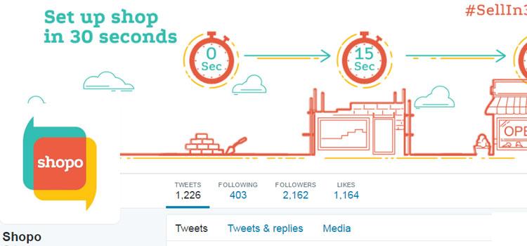 Shopo Twitter Profile