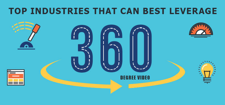 Top Industries that can Best Leverage 360 Video