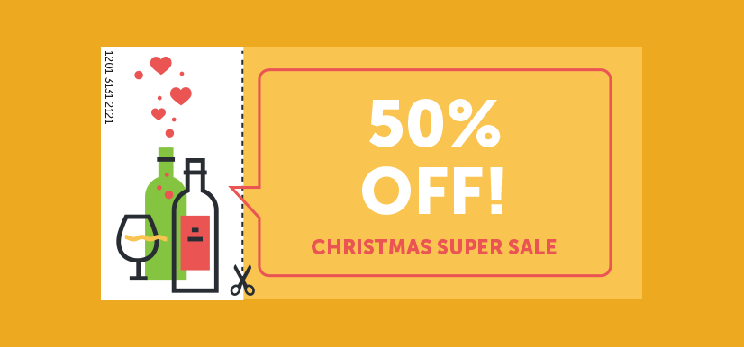 Percentage-based coupon   Coupons for Christmas