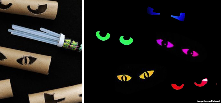 DIY Glowing Fierce Eyes