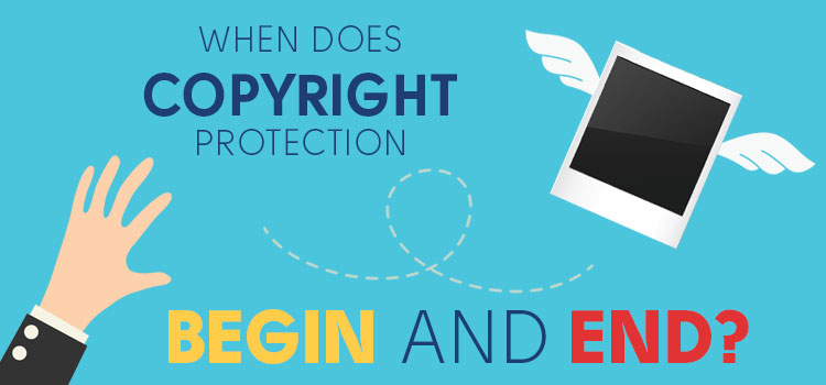 When does copyright protection begin and end?