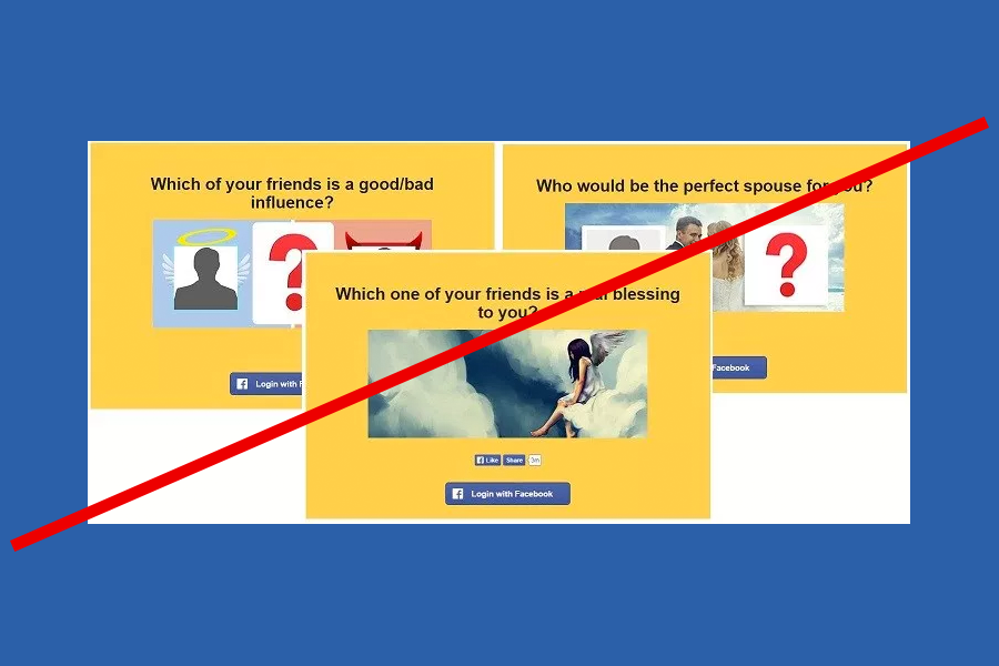 No to Facebook Quizzes - Trending Posts of March