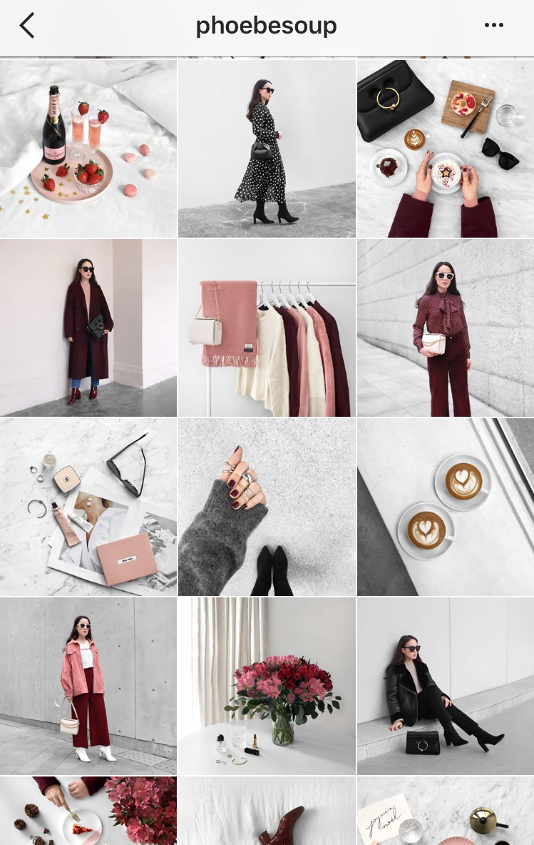Instagram:  @phoebesoup