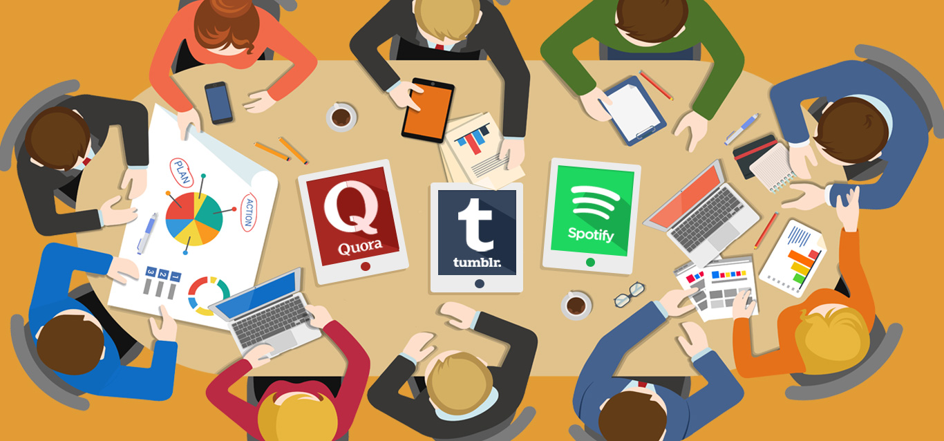 Quora, Spotify, and Tumblr: Why Try These Unexplored Social Media Platforms?