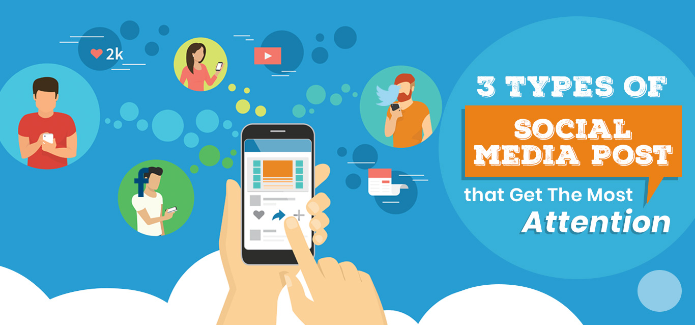 3 Types of Social Media Posts that Get the Most Attention