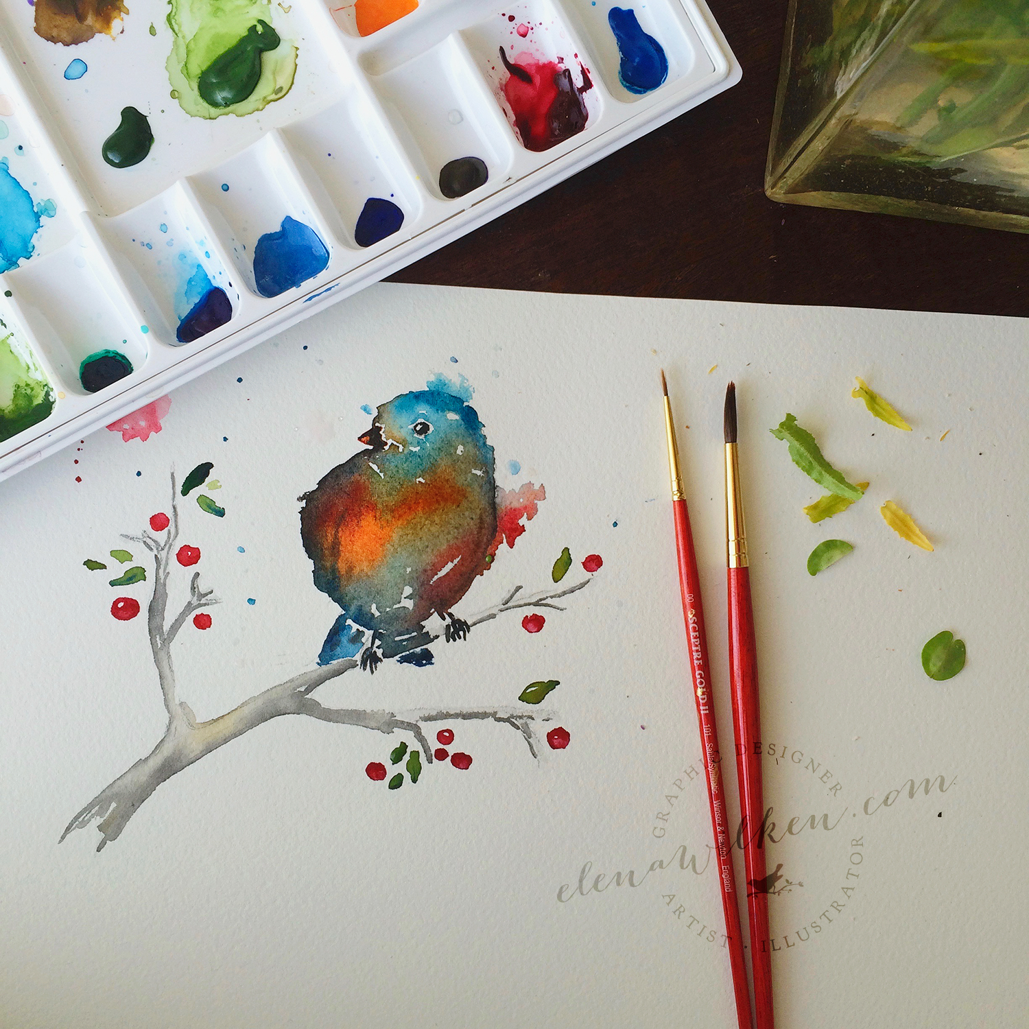 elena-wilken-christmas-bird-watercolors1.jpg