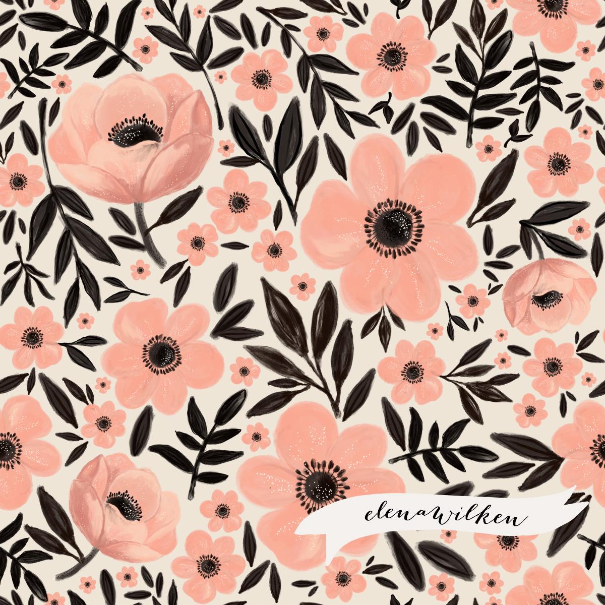 Anemones - Buttercream and Berries
