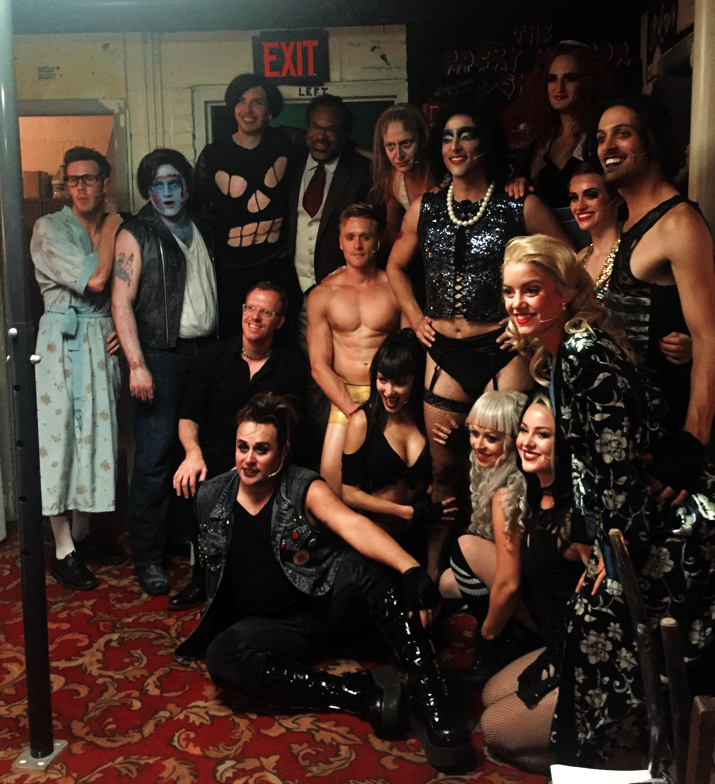 The Amazing Cast of Rocky Horror Show at Gateway Playhouse.