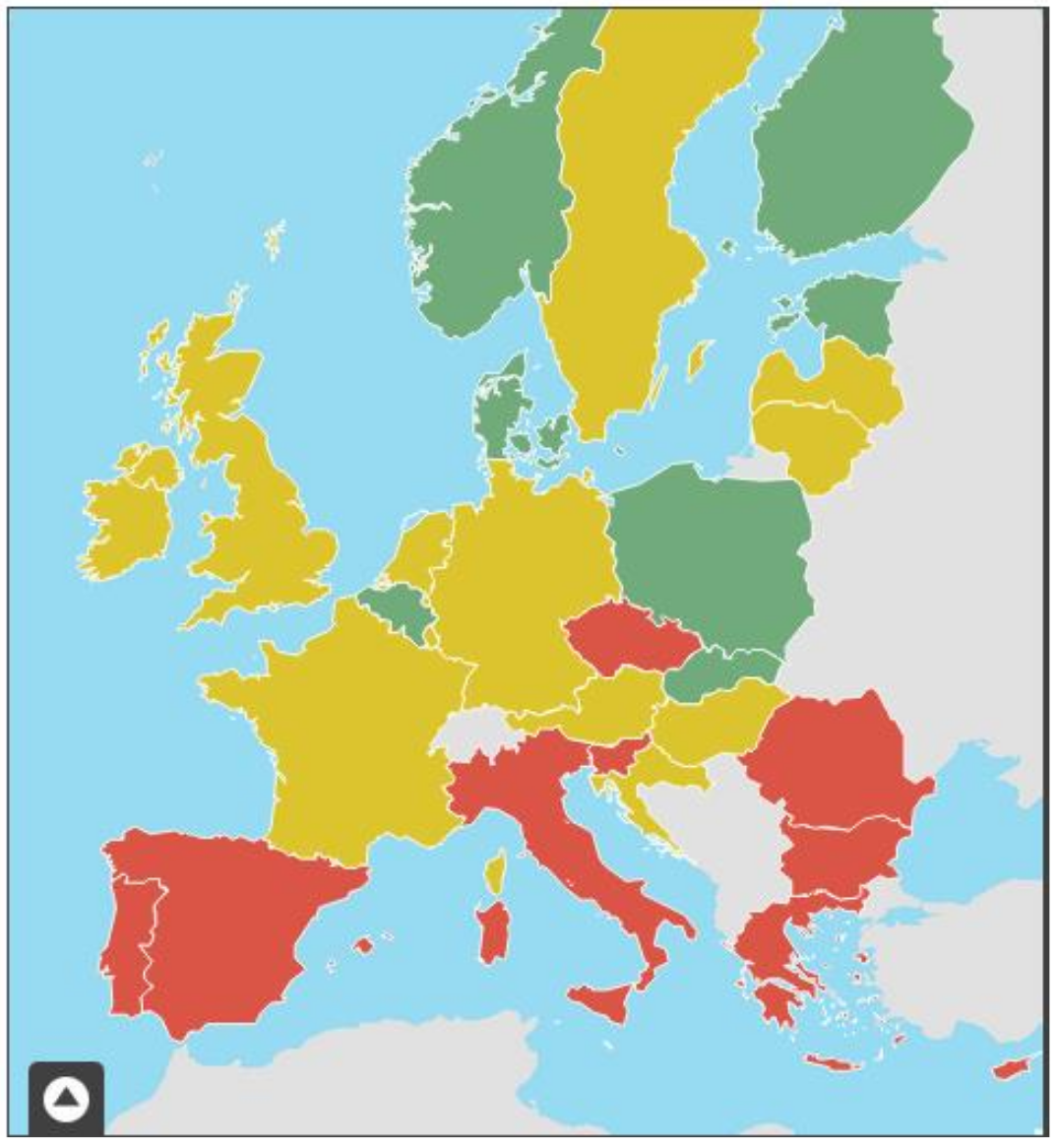 Source: European Commission, 2018 Single Market Scorecard for Public Procurement (based on 2017 data).