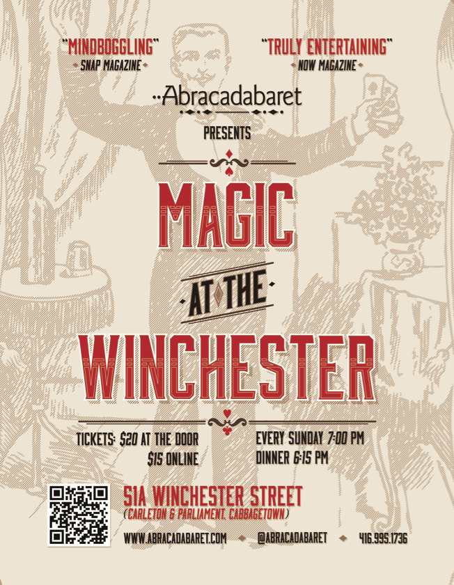 Magic at the Winchester - Fall 2013