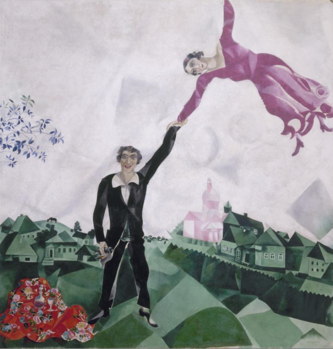 """Albertina Wien """"Chagall bis Mallewitsch"""""""