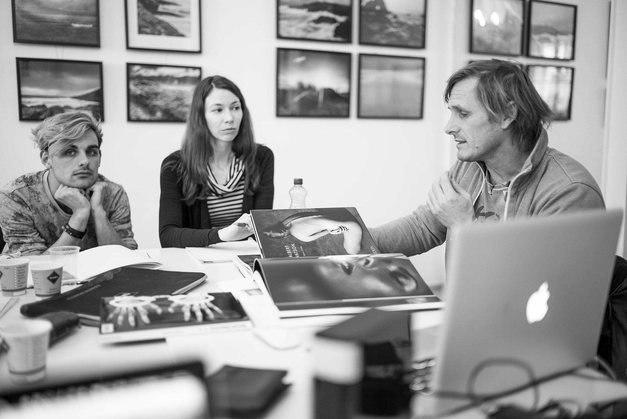 Roland Pum leitet die LIK Masterclass künstlerische Aktfotografie