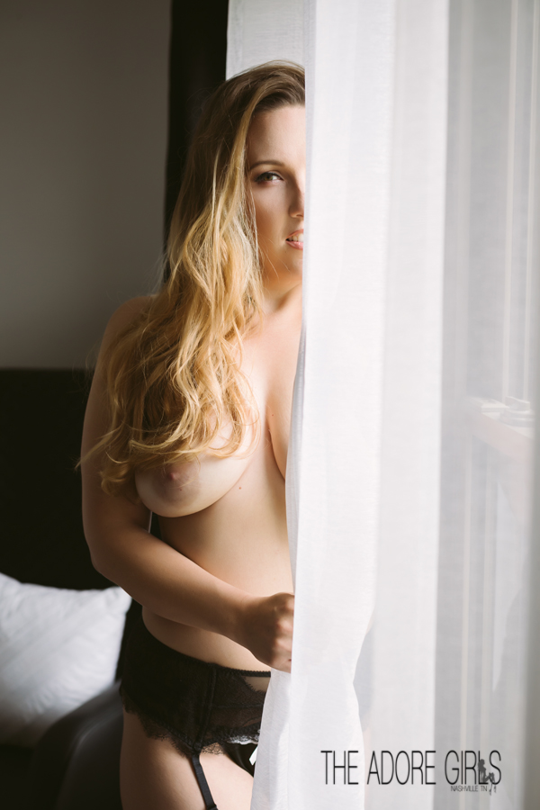 The Adore Girls Boudoir Photography window curtains