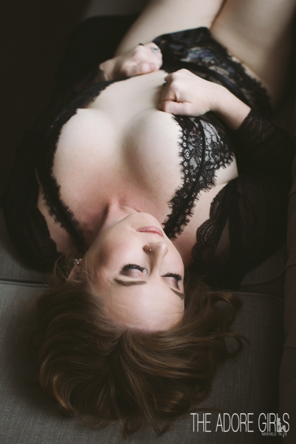 The Adore Girls Boudoir Photography black lace