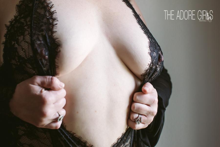 The Adore Girls Boudoir Photography close up