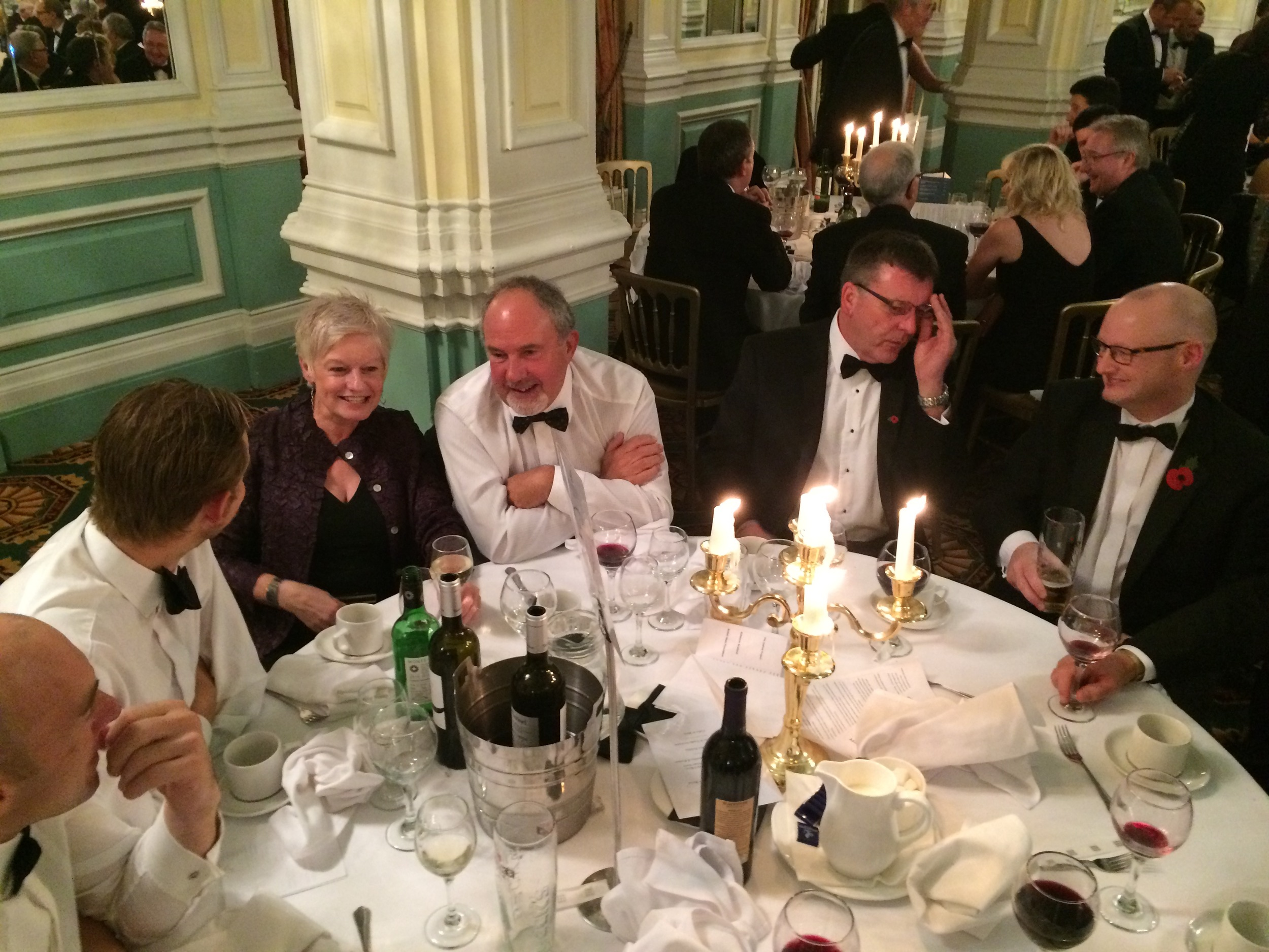 L - R: John Leather, Matthew Whitehead, Marcia Jennings, David Lister, David Lambert, Lee Hewitt.