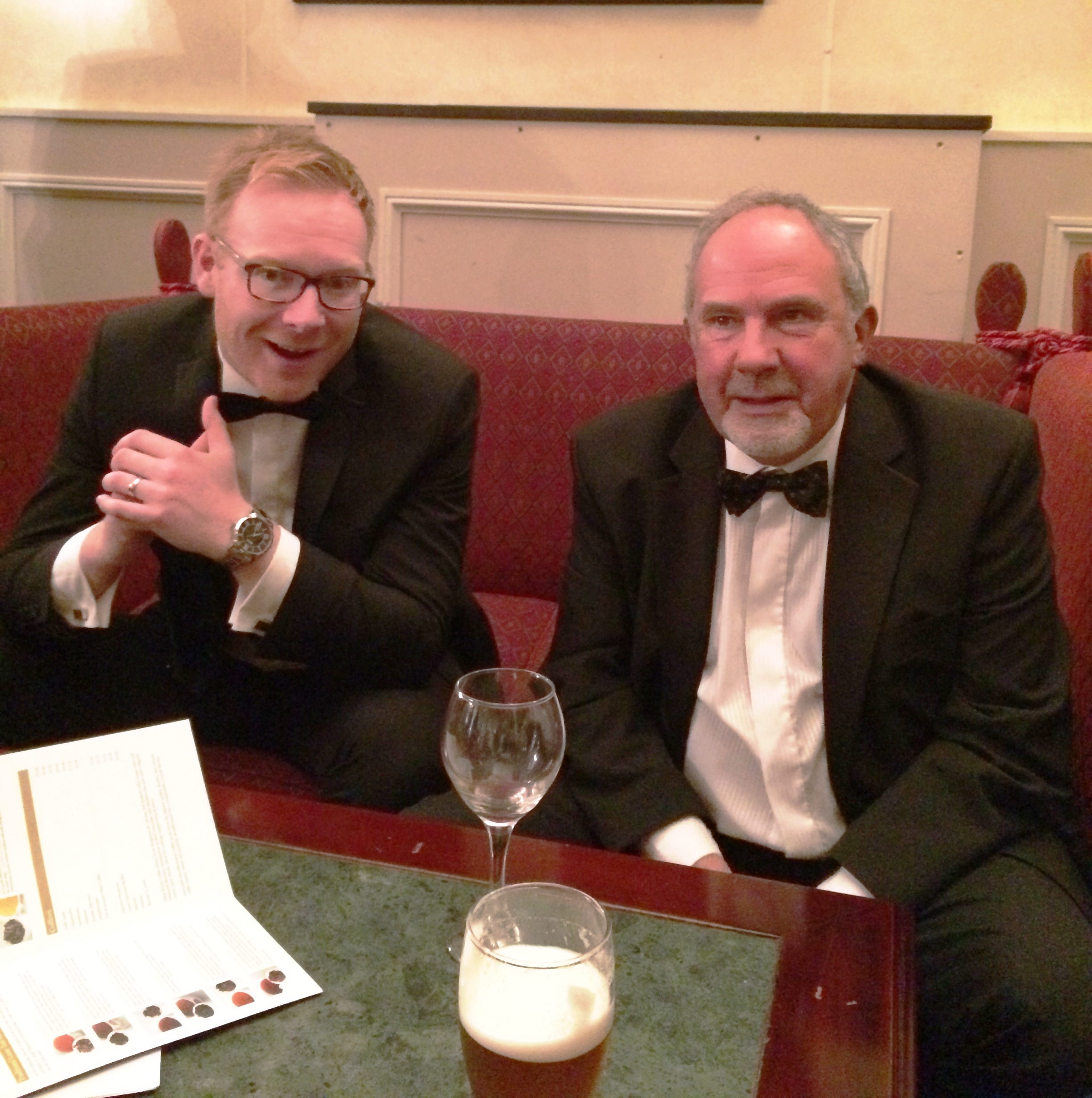 Gareth Jones of Bulmer & Lumb's Sales Team catches up with former colleague David Lister.
