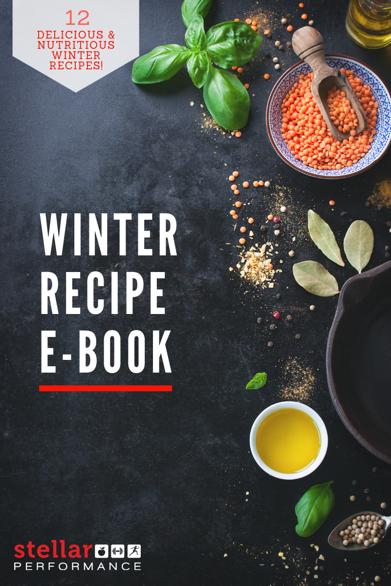Your Winter Recipe Ebook with 12 of our favourite nutritious and delicious recipes!
