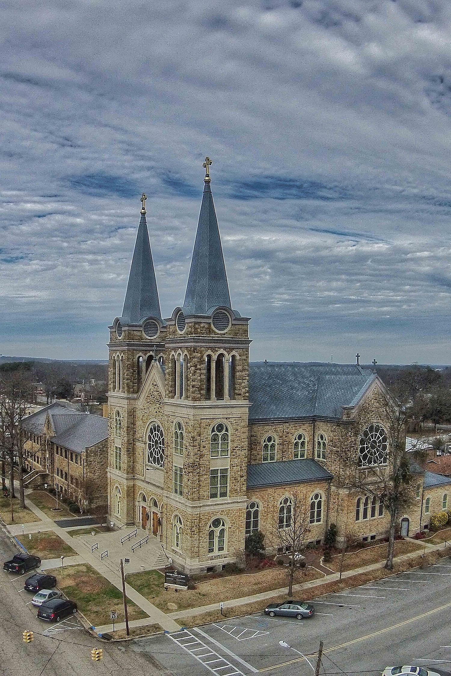 Sacred Heart Church in Cullman, Alabama