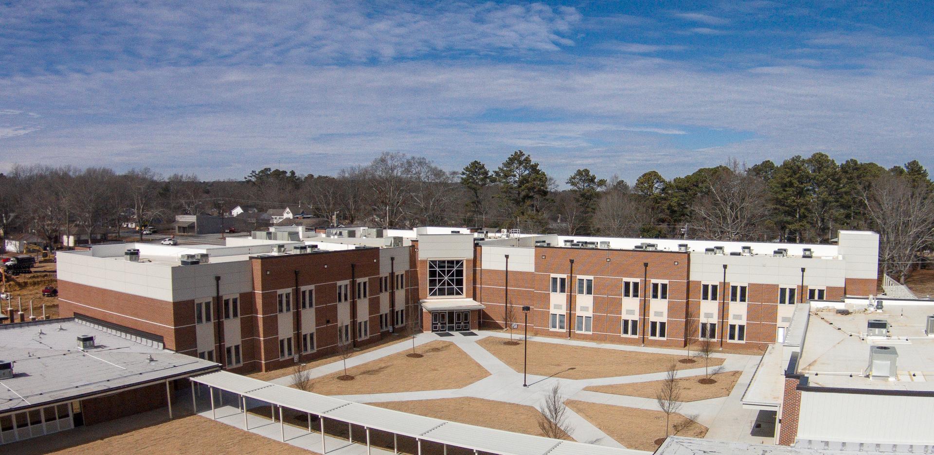 The new Cullman High School