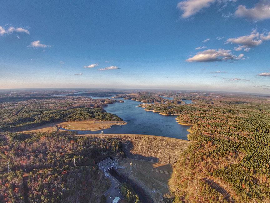 Smith Lake Dam in Alabama
