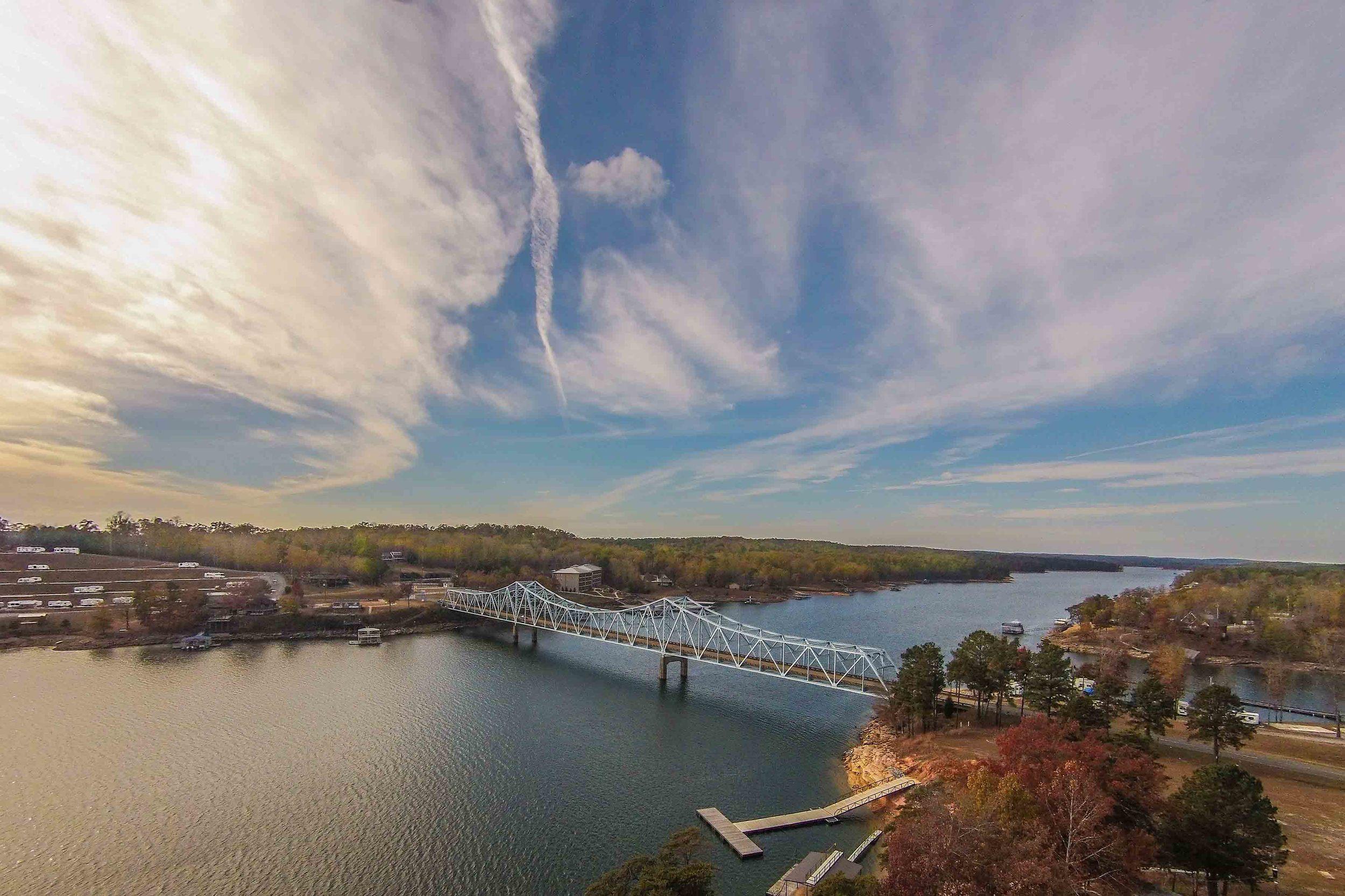 Duncan Bridge on Smith Lake