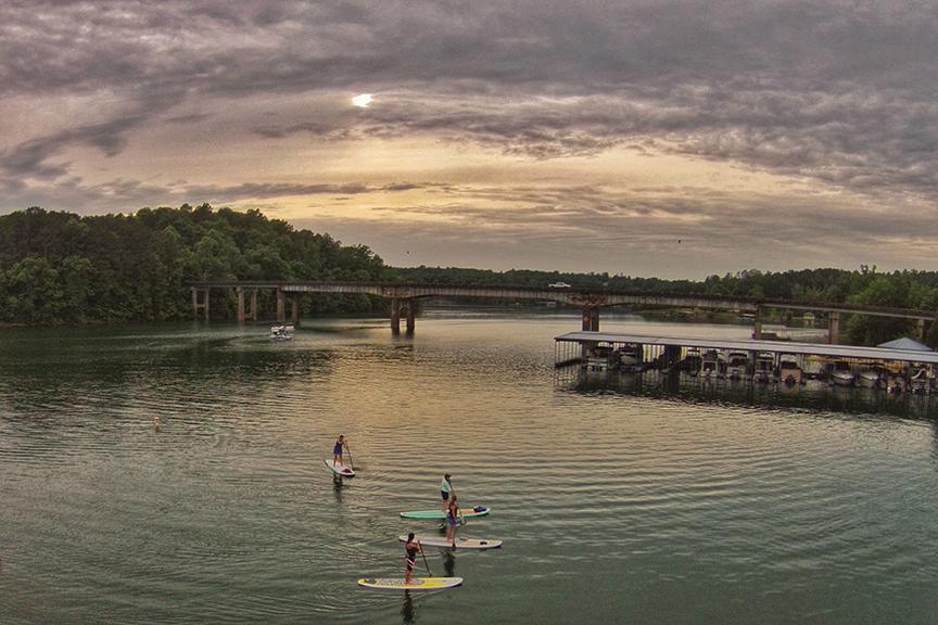Smith Lake Paddle Board