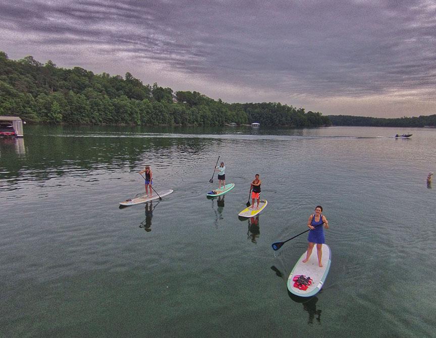 Smith Lake Paddleboard