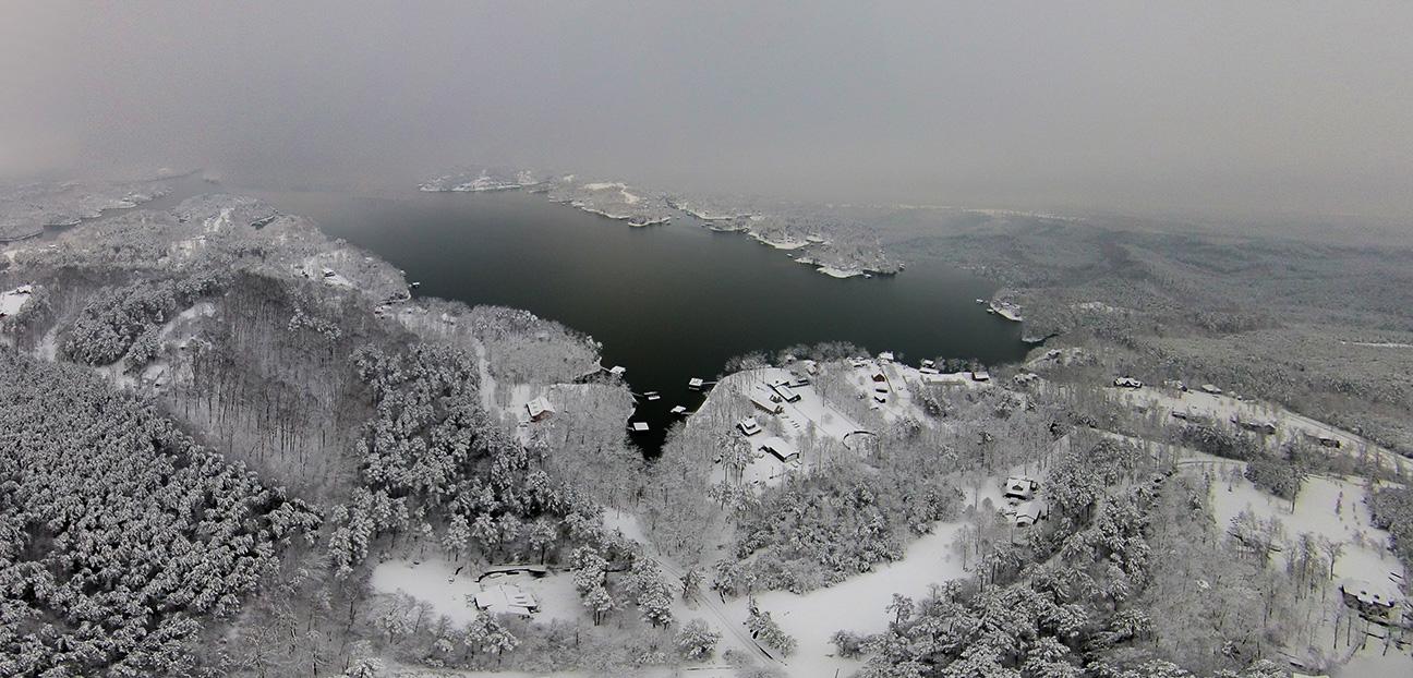 Smith Lake Snow