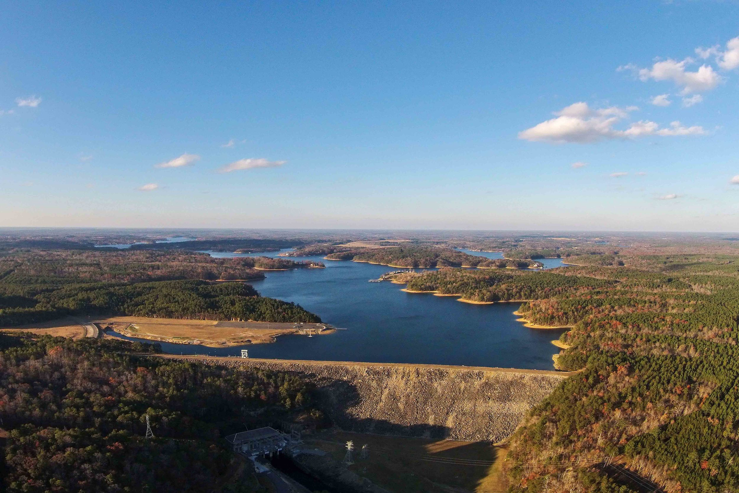 Smith Lake Dam 16x20 small.jpg