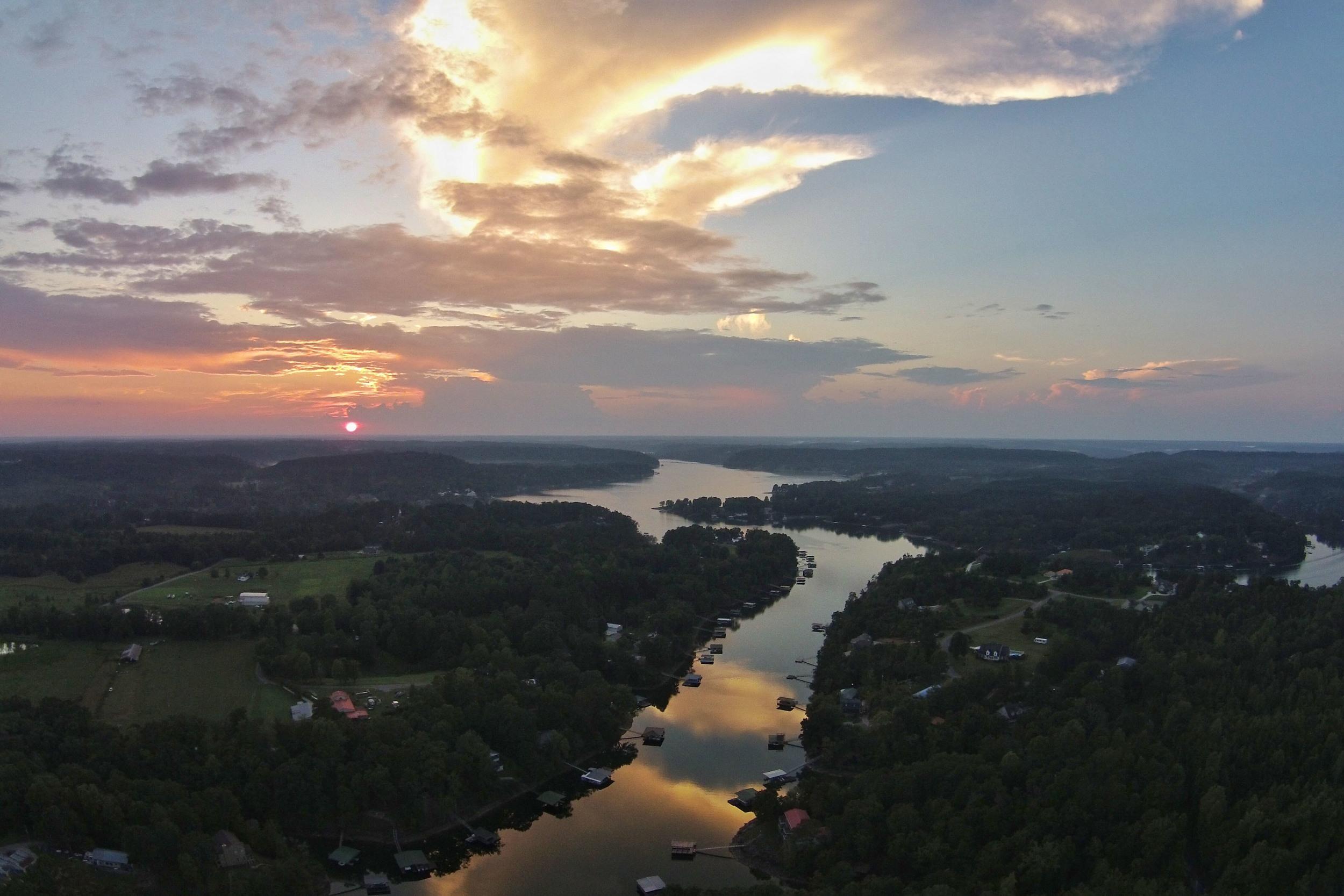 Smith Lake Sunset
