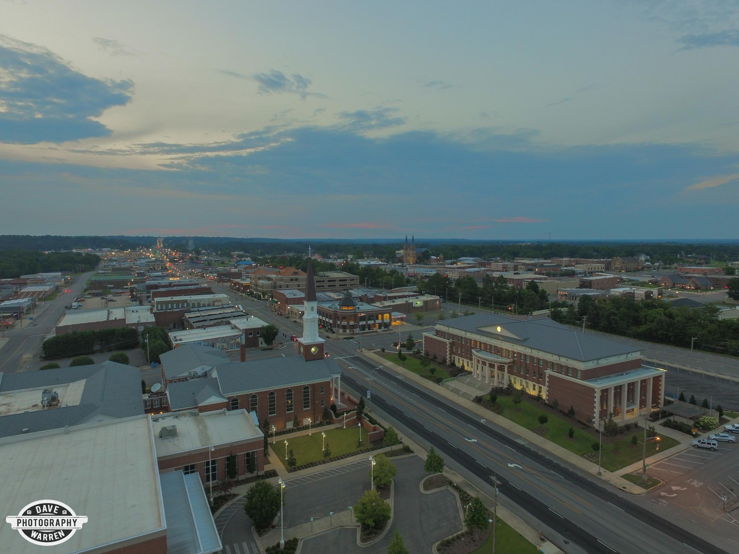 Cullman, Alabama Drone Photography