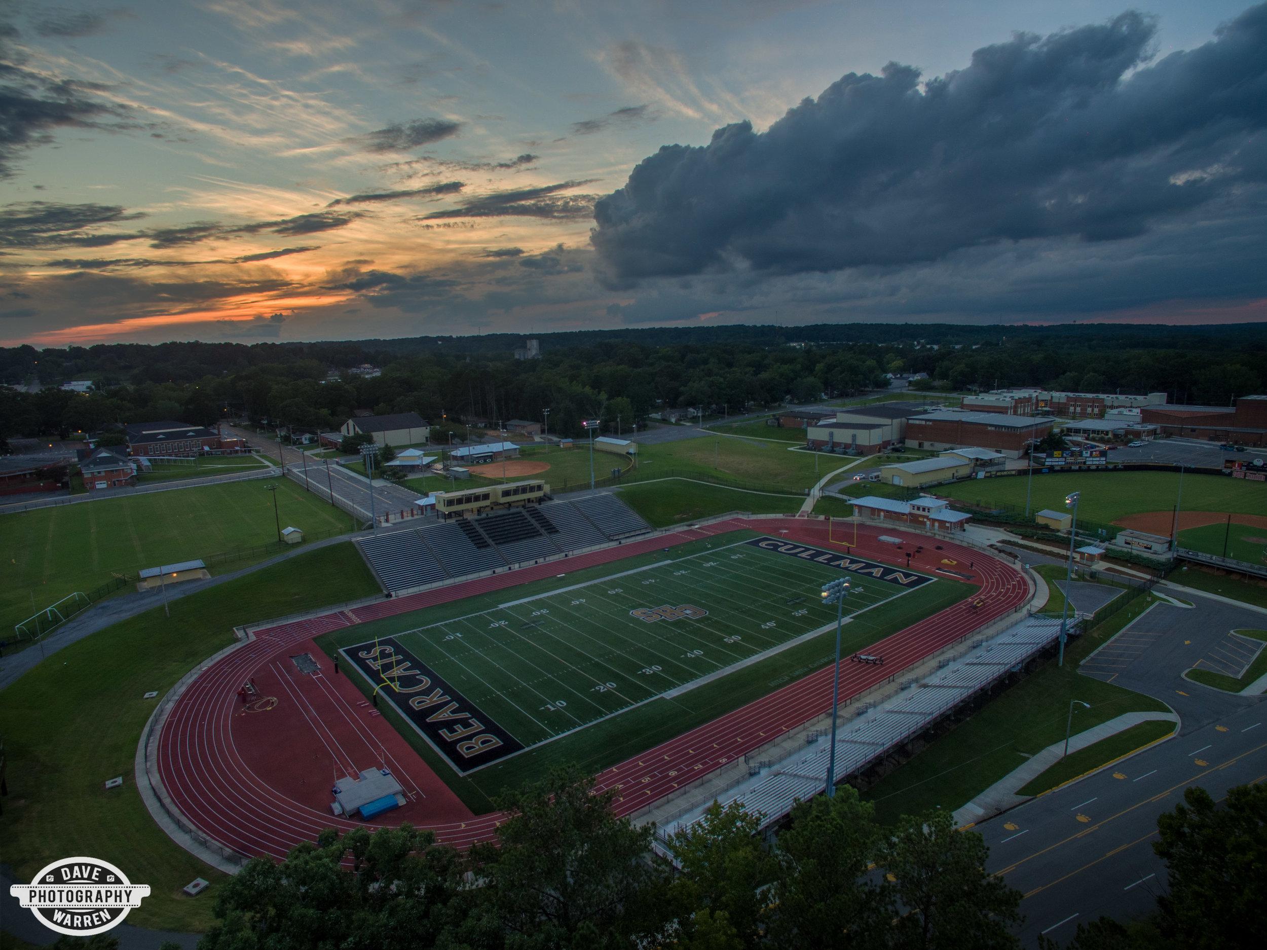 Cullman High School Sunset